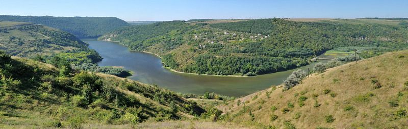 панорама Днестровского каньонаphoto preview