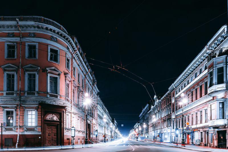 spring, russia, snow, спб, весна, снег, city, sky, небо, город, архитектура Невский Проспектphoto preview