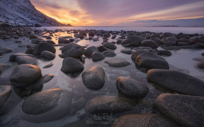 utakleiv, lofoten, norway. Rocky Beachphoto preview