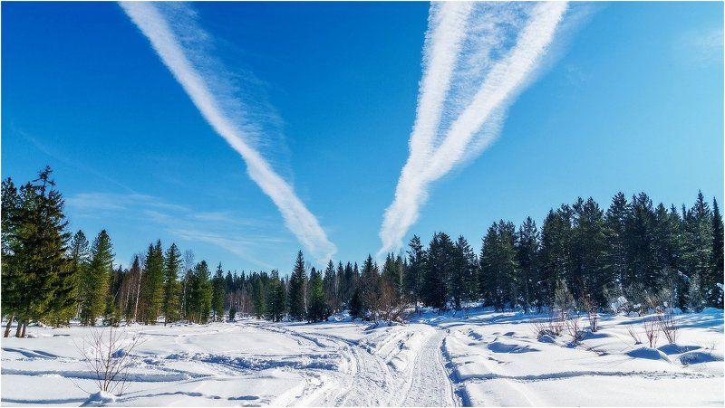 зима, снег, дорги Дороги - 2!photo preview