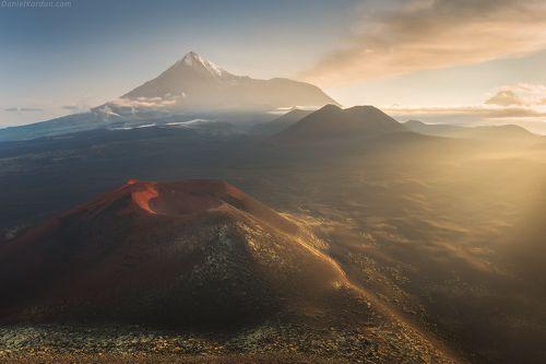 Над вулканами