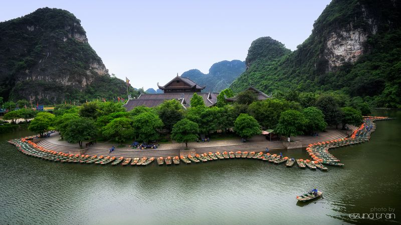 #trangan #peaceful #ninhbinh #boat #nature Peaceful Tran Anphoto preview