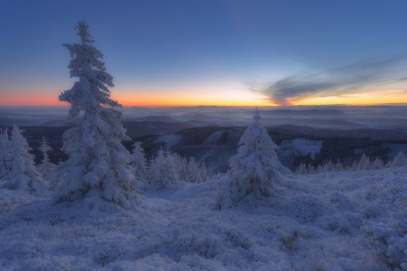 landscape,canon,winter,sunrise The Frozen Skyphoto preview