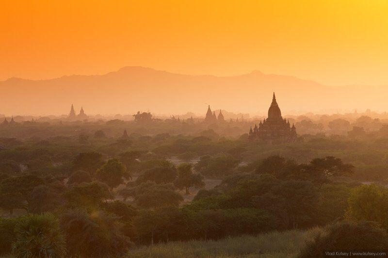 баган, мьянма, бирма, древнийгород, пагоды, храмы, буддизм, burma, myanmar, bagan, pagan, temples, temple, pagoda, sunset, oldcity, закат Древний Баганphoto preview