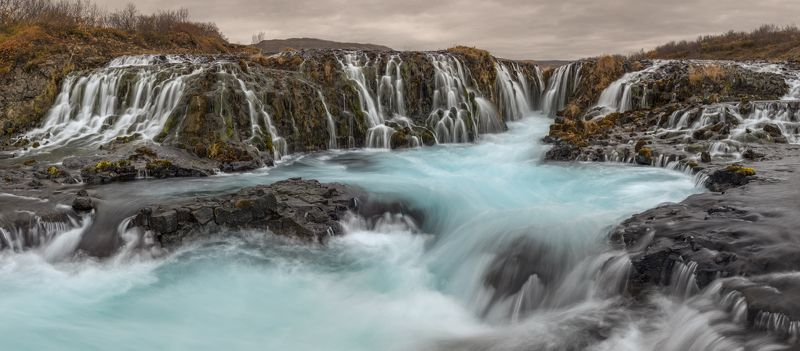 iceland, исландия Bruarfossphoto preview