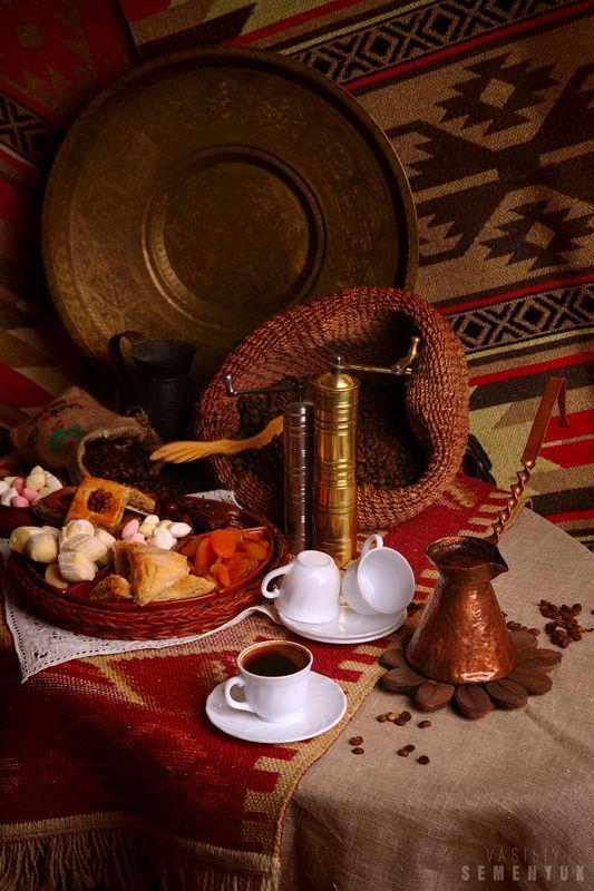 кофе, сладости, натюрморт, крым, восточный колорит. Кофе по крымски.photo preview