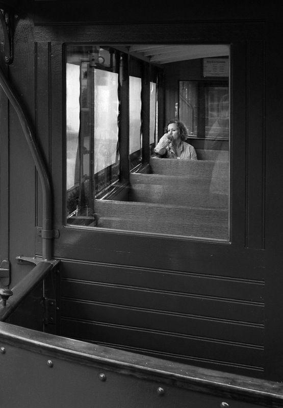 street, city life, woman, train, window, sad, railway, wood, lit, emotion Стук колесphoto preview