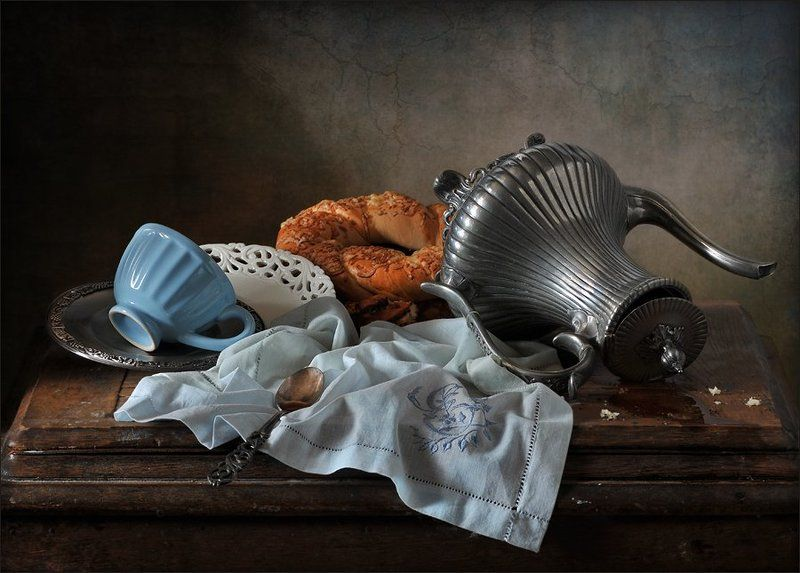 натюрморт Ссора за завтраком.photo preview