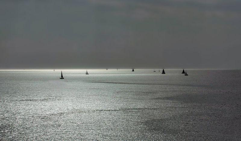#море, , #штиль, #свет, #парус Штильphoto preview
