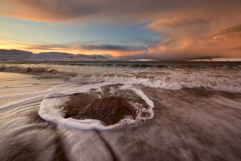 Камушек и море...photo preview