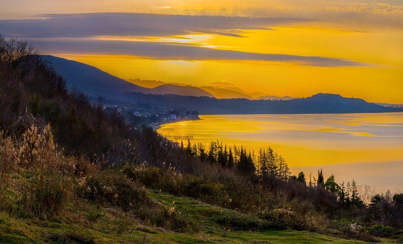 весна, абхазия, ущелье, лес, самшит, мох, солнце, апрель, река, бзыб, субтропический лес, лианы, цветы, храм, бедия, мимоза, горы, Абхазская весна!photo preview