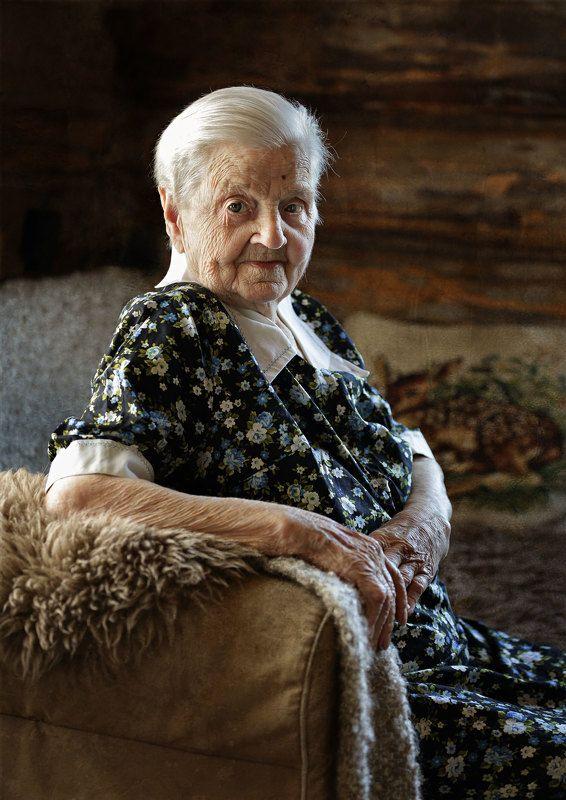 85 лет, Красивая бабушка, Обилей Бабуля.)photo preview