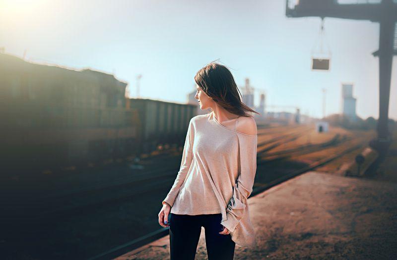 где ходят поезда..photo preview