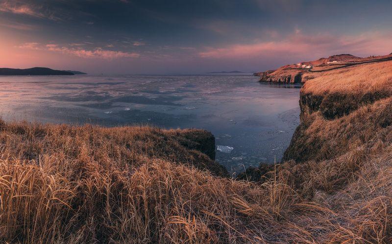 панорама, утро, скалы, весна ***photo preview