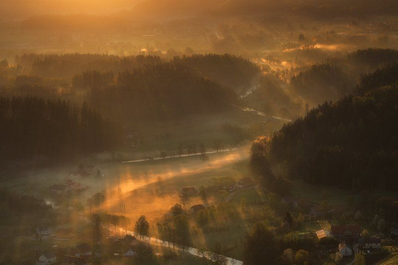 landscape,canon,mist,light,spring Where Peaceful Waters Flowphoto preview