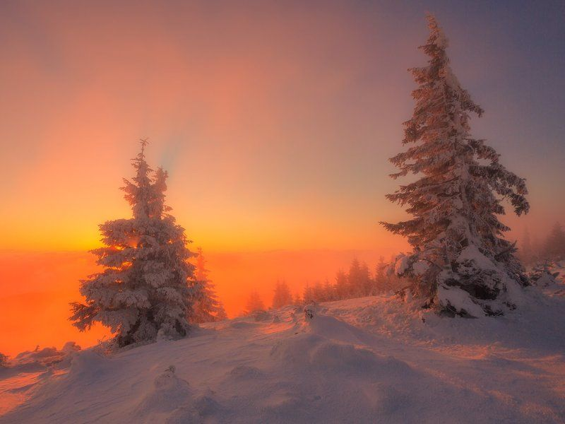 landscape,canon,winter,sunrise Winter Memories....photo preview