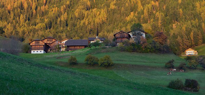 деревенька в Альпахphoto preview