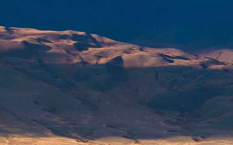 горы, склоны, вечер, свет, тень, курай, курайский хребет, горный алтай, республика алтай Pro световые трансформации - Триптихphoto preview