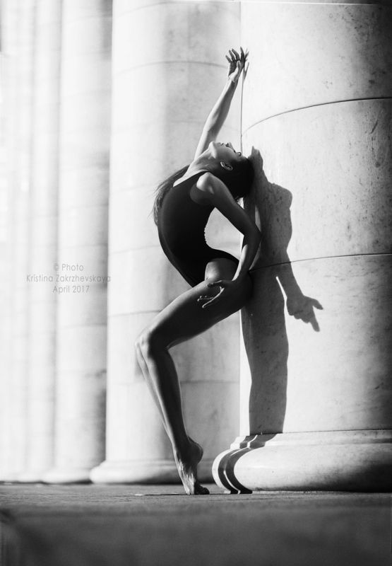 черно белый, гимнастка, спорт, красота тела, грация, photo preview