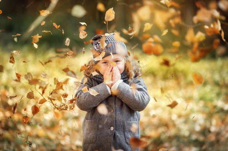 дети, осень, kids, family, children, autumn Autumnphoto preview
