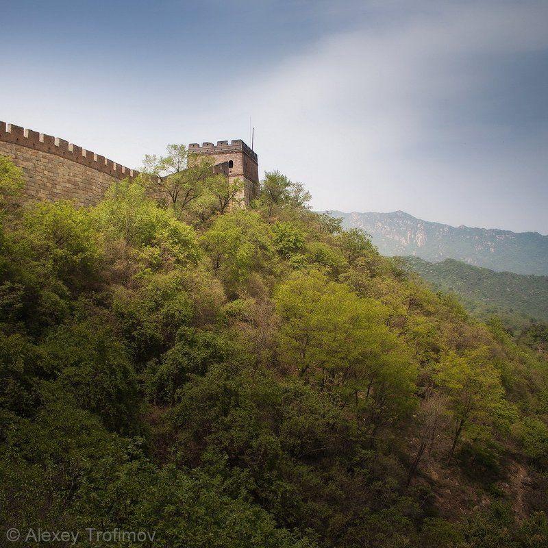 китай, китайская стена, великая китайская стена Великая китайская стенаphoto preview