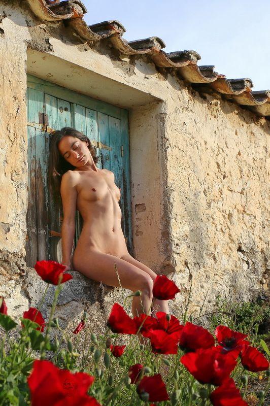girl, nude, greek Morgen im April (morning in april)photo preview