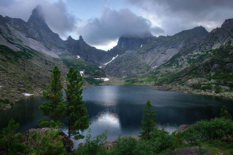 ергаки, горы, саяны, лето, сибирь, озеро, озерогорныхдухов После дождяphoto preview