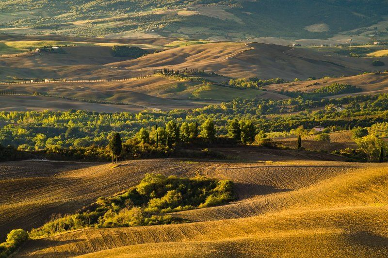 tuscany,orcia Autumnphoto preview