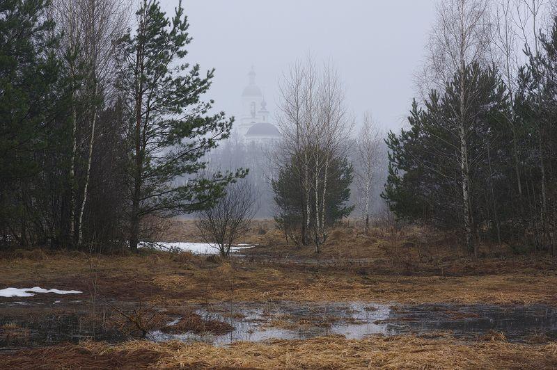 Одним очень туманным весенним утром в Подмосковьеphoto preview
