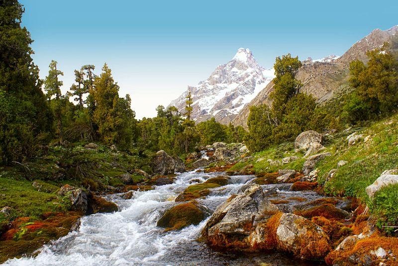 Река Пасруд. Алаудины. Фанские горы. Таджикистанphoto preview