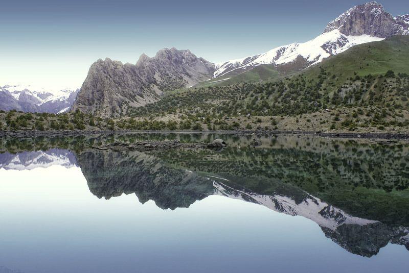 Жемчужины Таджикистана - Алаудинские озера. Фанские горы.photo preview