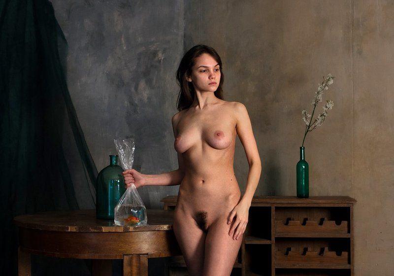 nude Холодное утро.photo preview