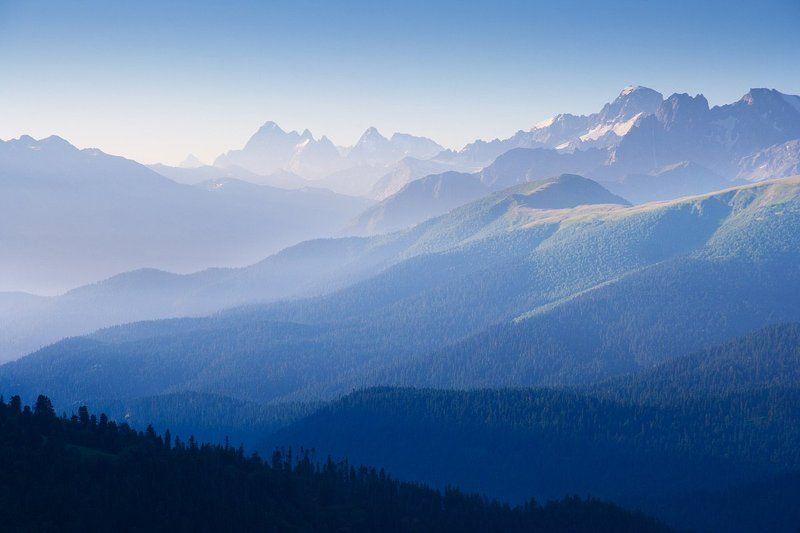 Кавказ. Ранок.photo preview