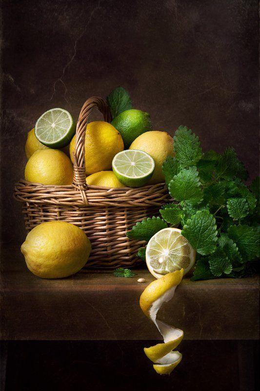 натюрморт, лимоны, лайм С лимонамиphoto preview