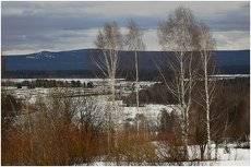 Весна на Урале.