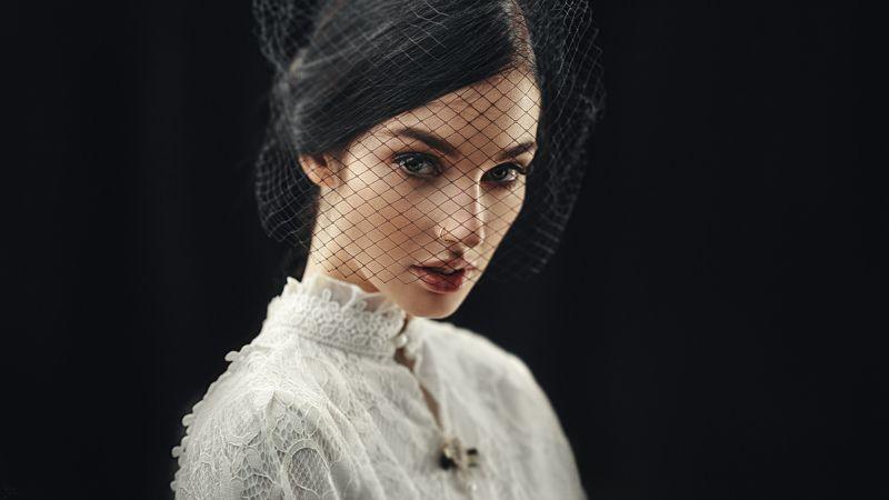 портрет, арт, модель, portrait, art Аллаphoto preview