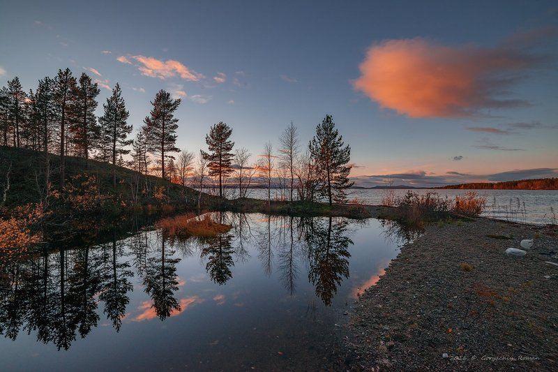 север, кольский, хибины, заполярье, имандра, Осень на Имандре.photo preview