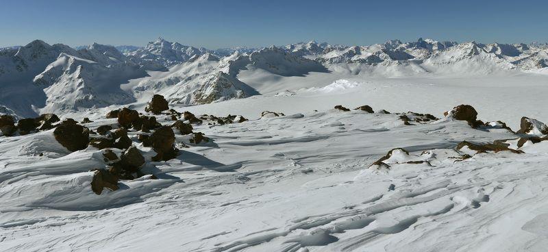 горы, Эльбрус. Кавказ В стране снегов и скалphoto preview