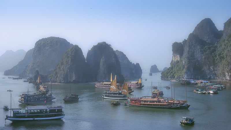 путешествие,Вьетнам,пейзаж,морской,Халонг,travel,seascape, Халонг.photo preview