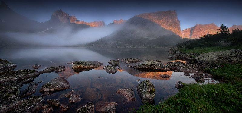 ергаки, горы, саяны, лето, сибирь, озеро, озерогорныхдухов На озере Горных духовphoto preview