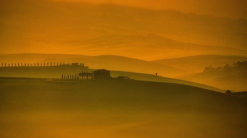тоскана Тоскуя по Тосканским туманамphoto preview