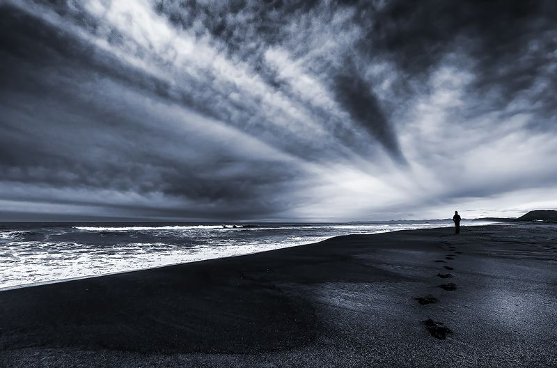 камчатка, вечер, океан, берег Уходя, уходи!photo preview