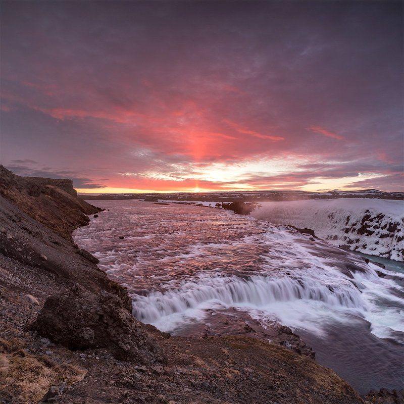 Sunrise & Gullfossphoto preview