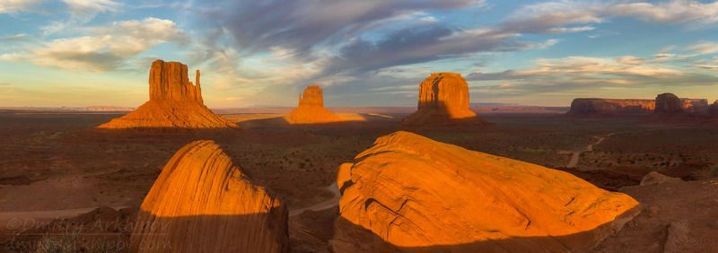 Долина Монументов, граница штатов Аризона и Ютаphoto preview