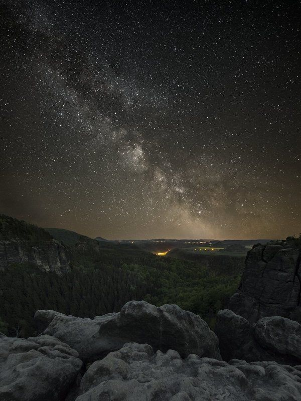 astro, galaxy, milkyway Saxon Switzerlandphoto preview