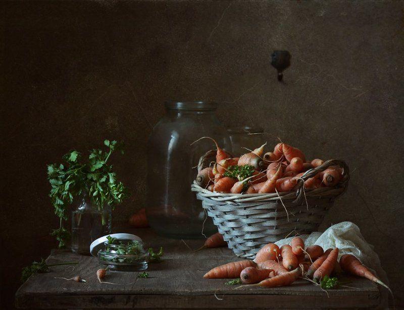 натюрморт, морковь, осень, овощи * * *photo preview