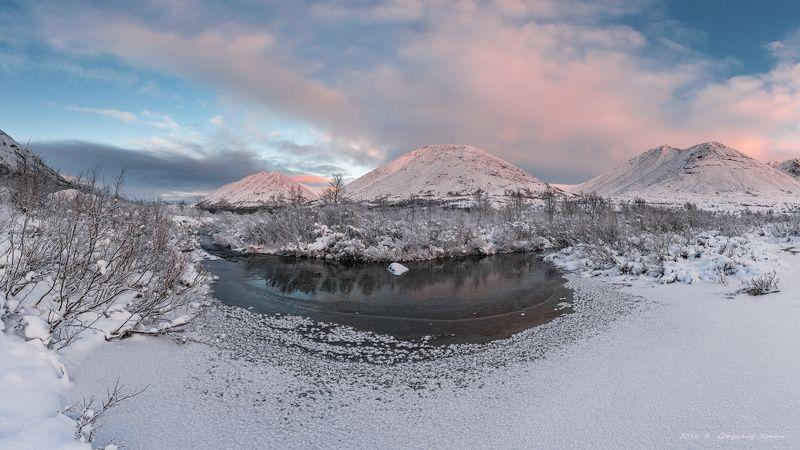 север, кольский, хибины, ноябрь, заполярье, Ноябрьские Хибины.photo preview