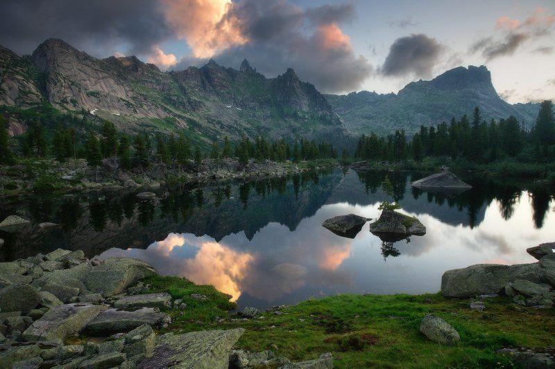 ергаки, горы, саяны, лето, сибирь, озеро, художников, озерохудожников Для Художниковphoto preview