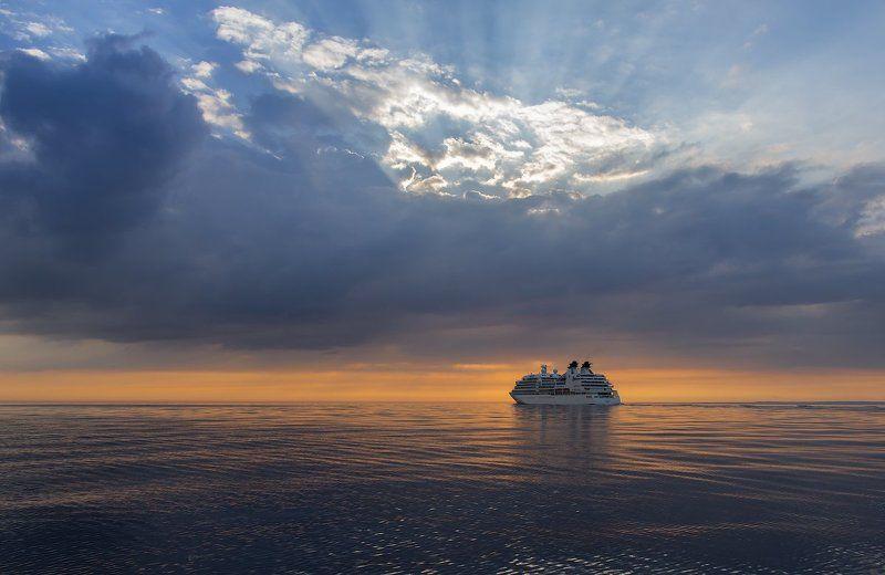 Финский залив. Вечерний залив.photo preview