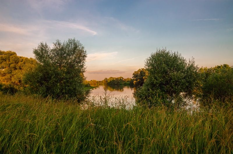 nevant60 березуцкий _александр природа красота пейзаж брянск Вечер на Деснеphoto preview